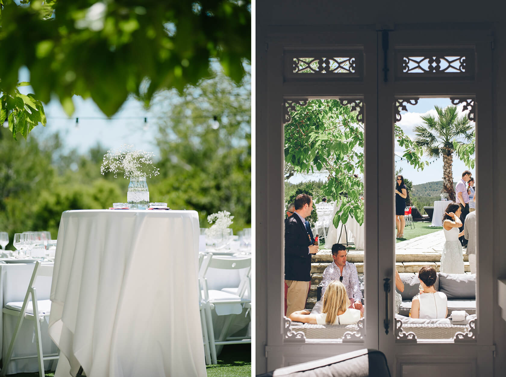 Casa Nova Estate Sitges wedding photographer