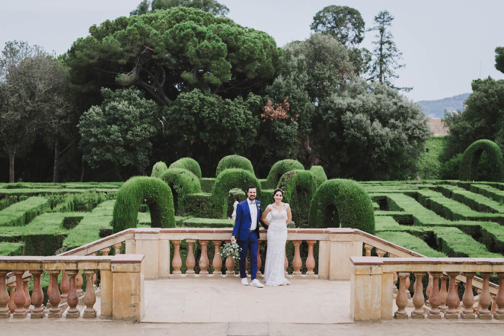 wedding at parc del laberit d'horta
