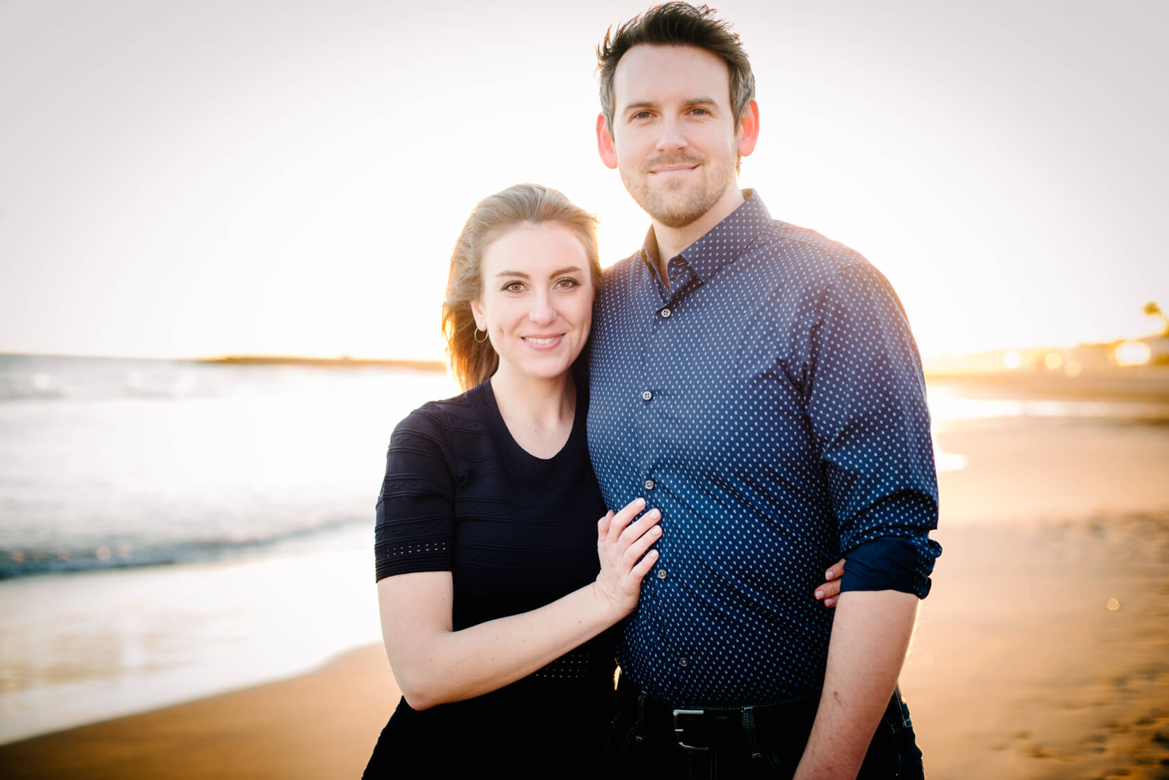 engagement photo-shoot in Sitges